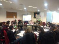 Em 26 de janeiro, realizou-se em Salamanca uma reunião de acompanhamento do projeto CRECEER.