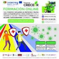 TALLERES GRATUITOS ONLINE PROTOCOLOS ANTE COVID 19 PROYECTO CRECEER